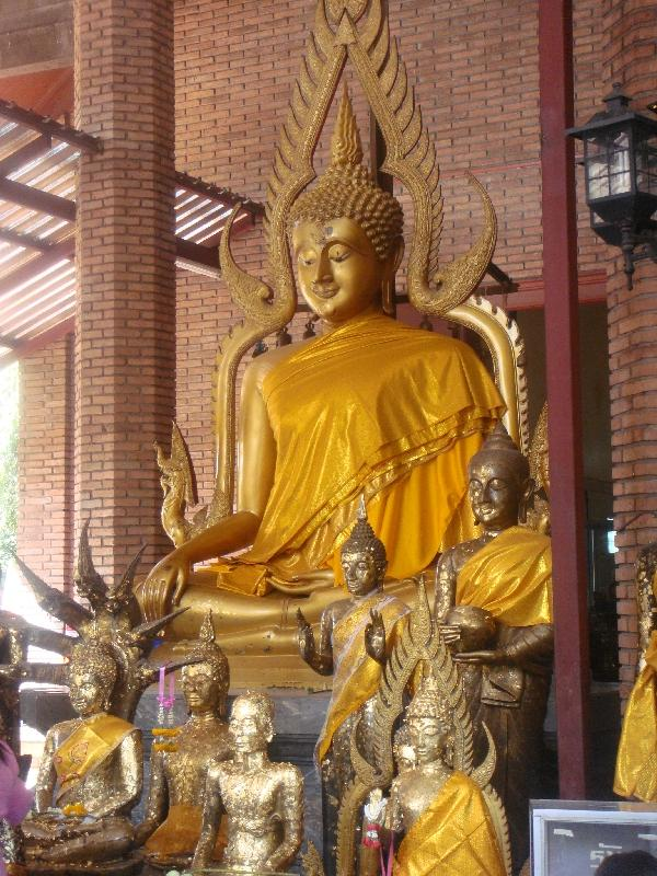 Buddhist Temple in Ayutthaya, Thailand