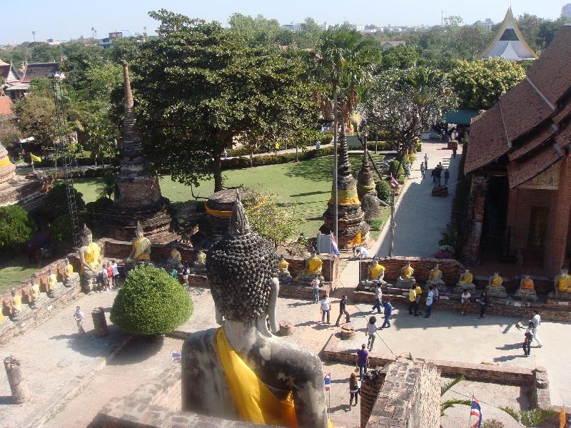 Overlooking Wat Yai Chaimonkhol, Thailand