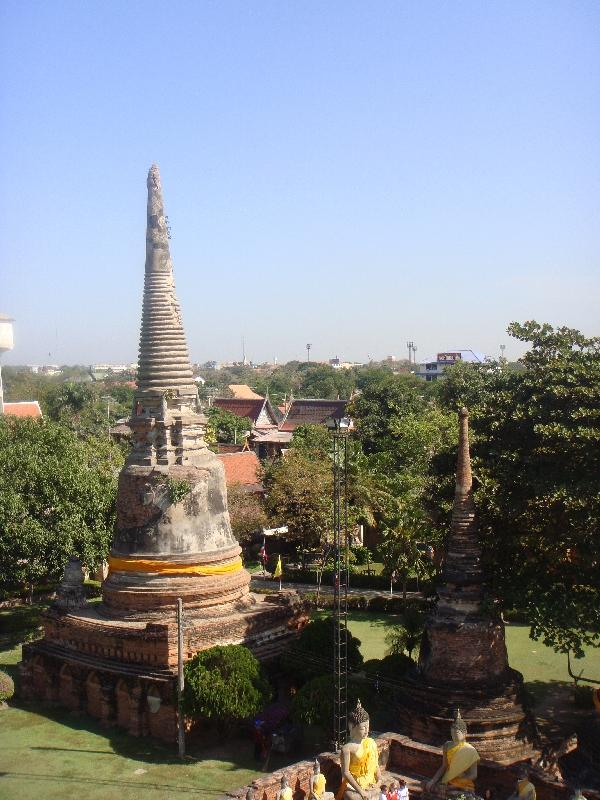 Panorama of Wat Yai Chaimonkhol, Thailand