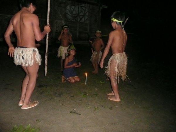 Traditional Dancing in Ecuador, Ecuador