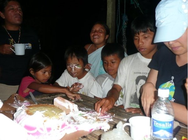 Celebrating a birthday in Ecuador, Ecuador