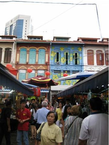 Markets in Chinatown, Singapore, Singapore Singapore