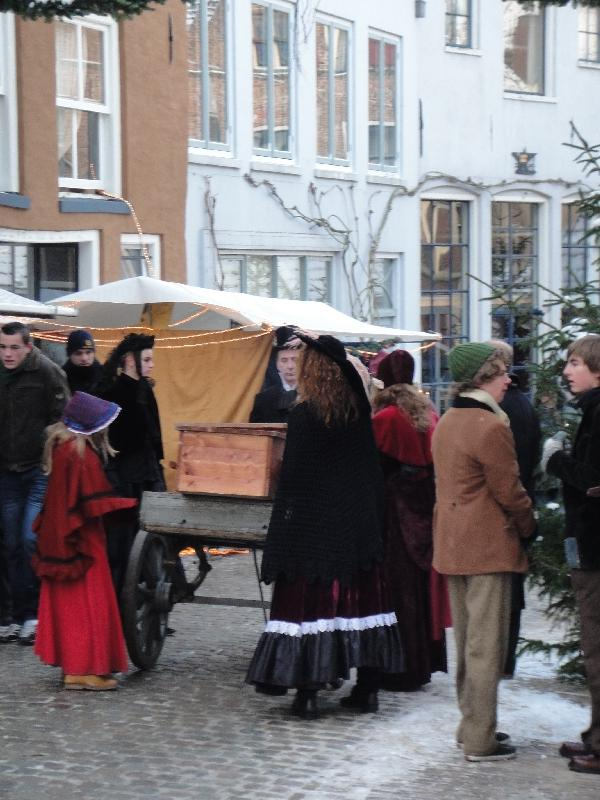 Photos of Dickens 2009 feast, Deventer Netherlands