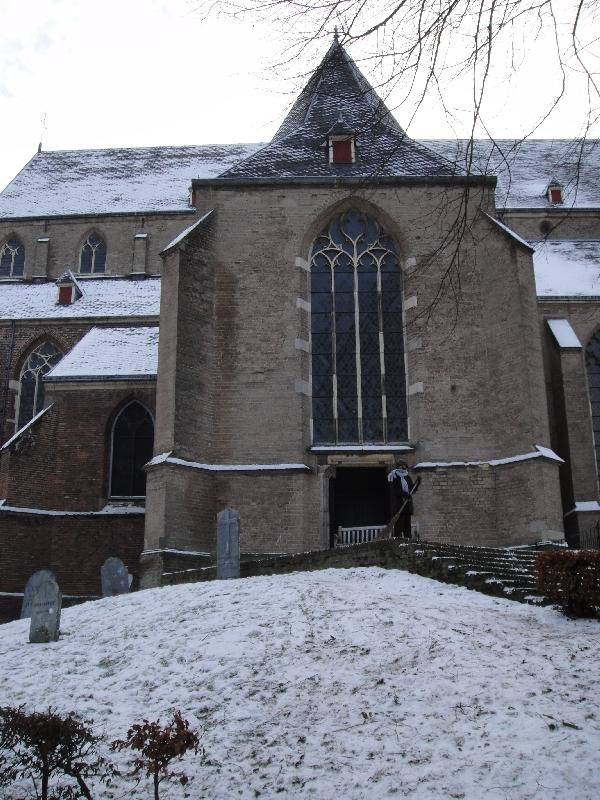 The St Lebuinus Church in Deventer, Netherlands