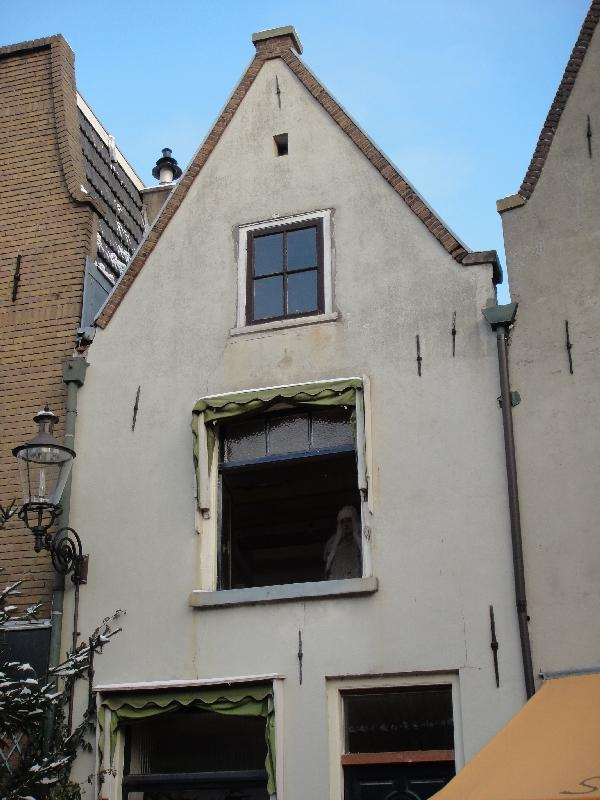 Old houses of the Walstraat, Deventer, Netherlands