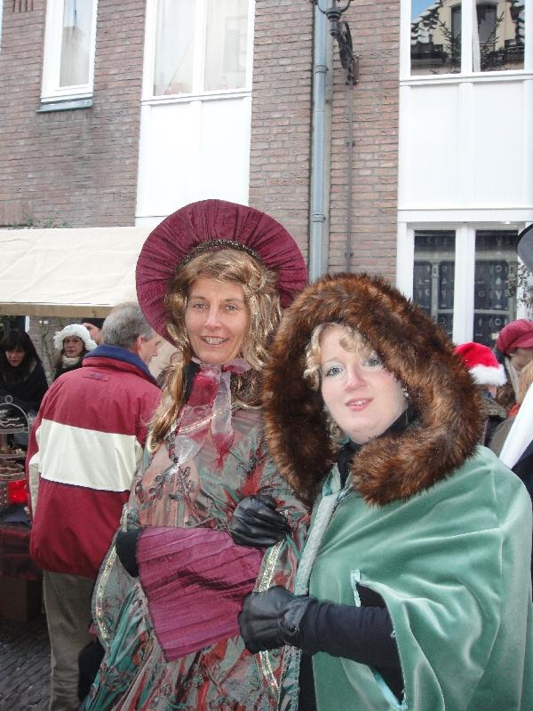Ladies from the story telling era, Deventer Netherlands