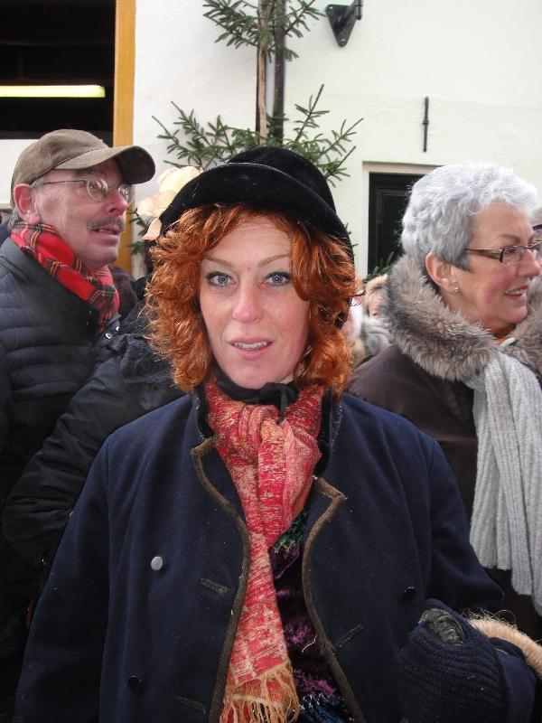Actress of Charles Dickens feast, Deventer Netherlands