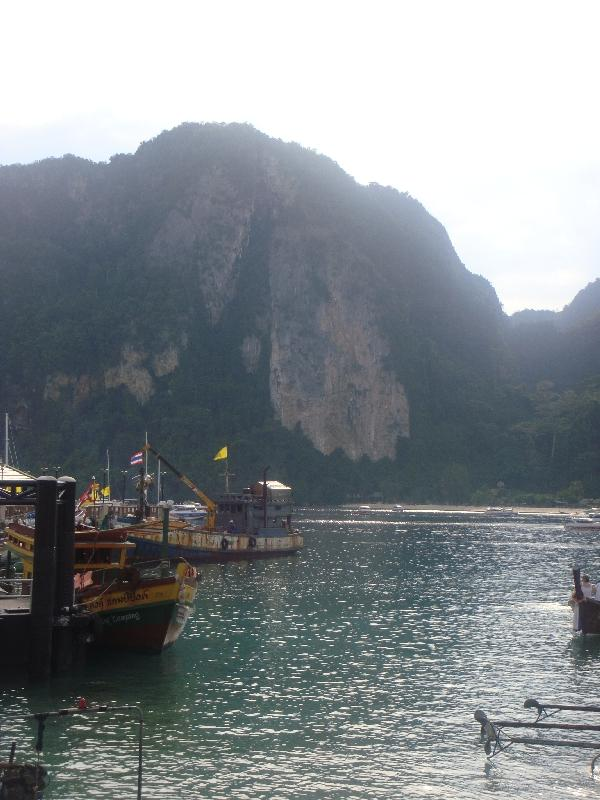 Panoramic photo at Ko Phi Phi, Thailand