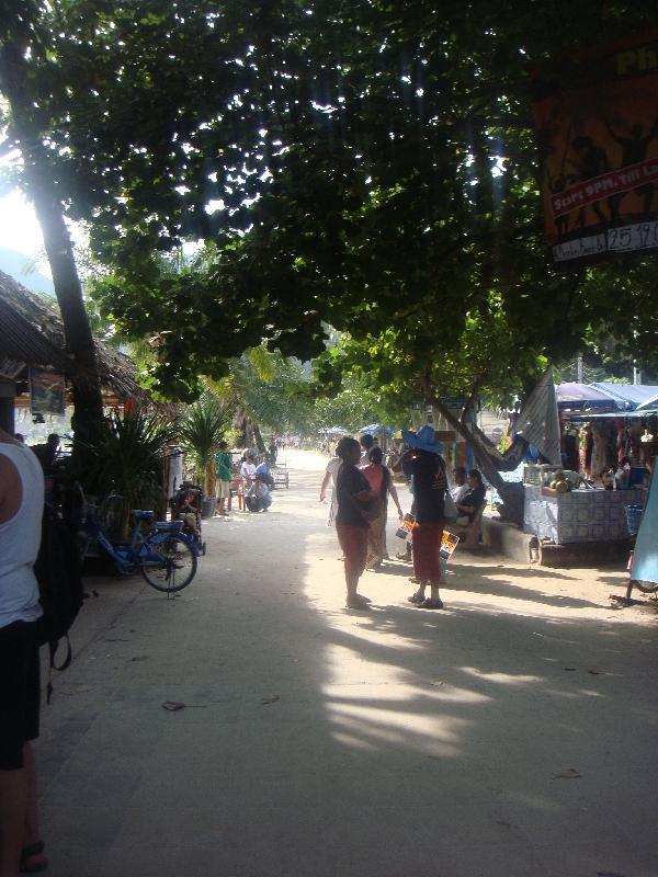 Street panorama in Ko Phi Phi, Thailand