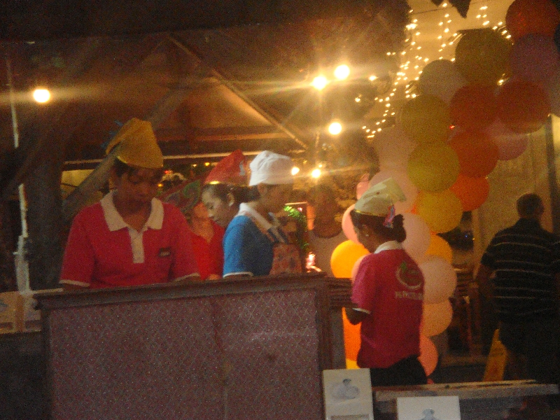 Restaurants on New Years Eve in Thailand, Ko Phi Phi Don Thailand
