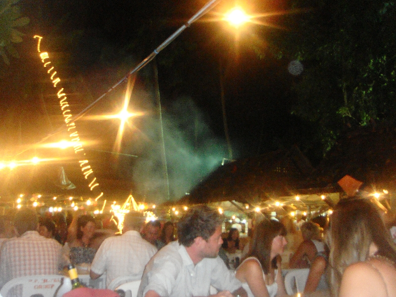 New Year's Eve party on Ko Phi Phi, Thailand