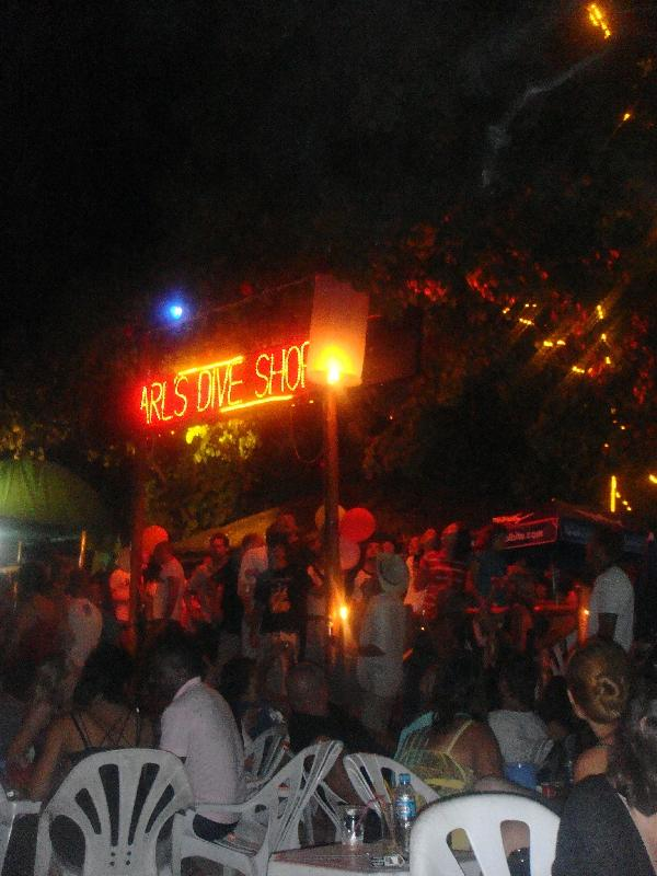 Party at New Years Eve in Thailand, Ko Phi Phi Don Thailand