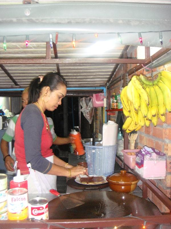 Food stands on Ko Phi Phi, Ko Phi Phi Don Thailand