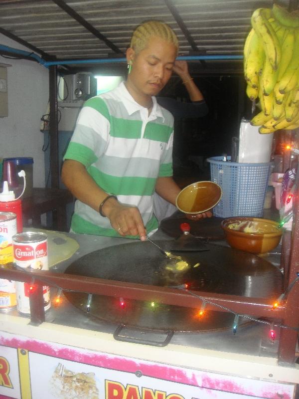 Ko Phi Phi Don Thailand Fresh pancakes in Thailand