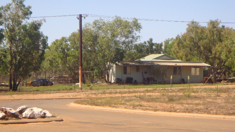 Entering an Aboriginal community, Australia
