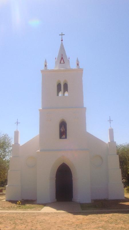 Pictures of the Beagle Bay Church, Cape Leveque Australia