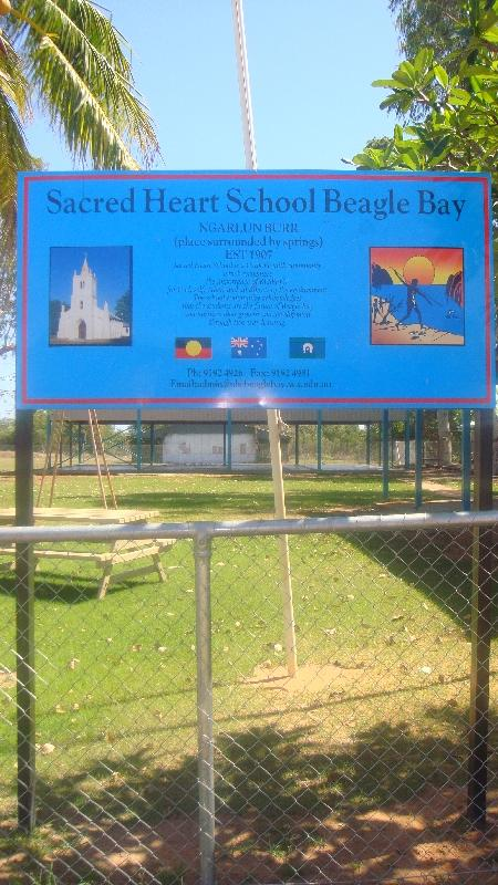 Sacred Heart School in Beagle Bay, Cape Leveque Australia