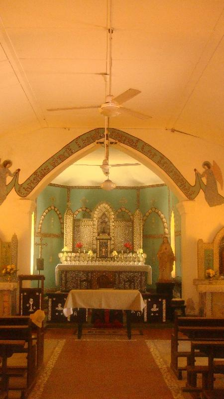 Photos taken in the church, Cape Leveque Australia