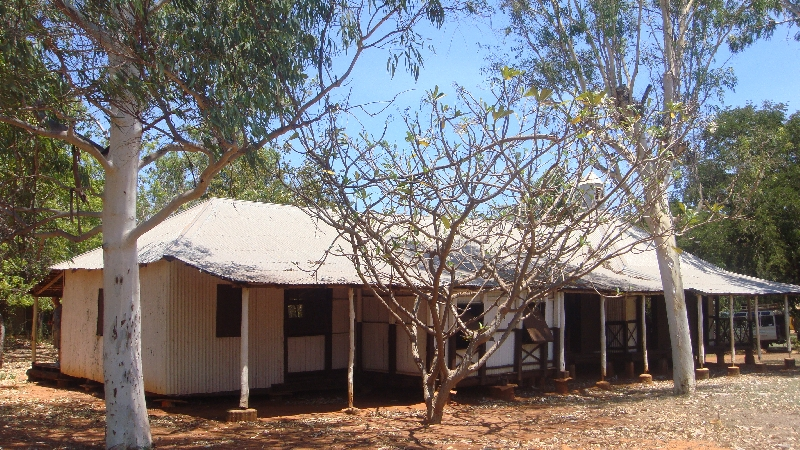 Houses in a aboriginal community, Australia