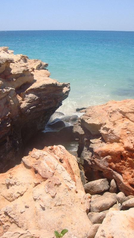 Ocean panorama in Cape Leveque, Australia