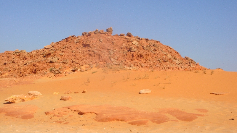 Cape Leveque Australia The rough red outback