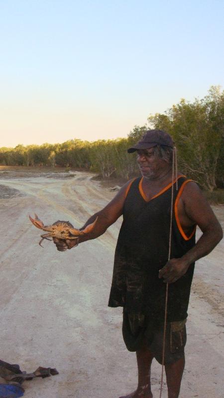 Mud crabbing in Western Australia, Cape Leveque Australia