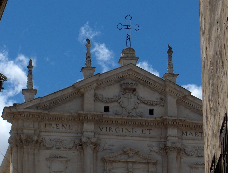 St. Irene, The Church of the Theatines, Lecce Italy