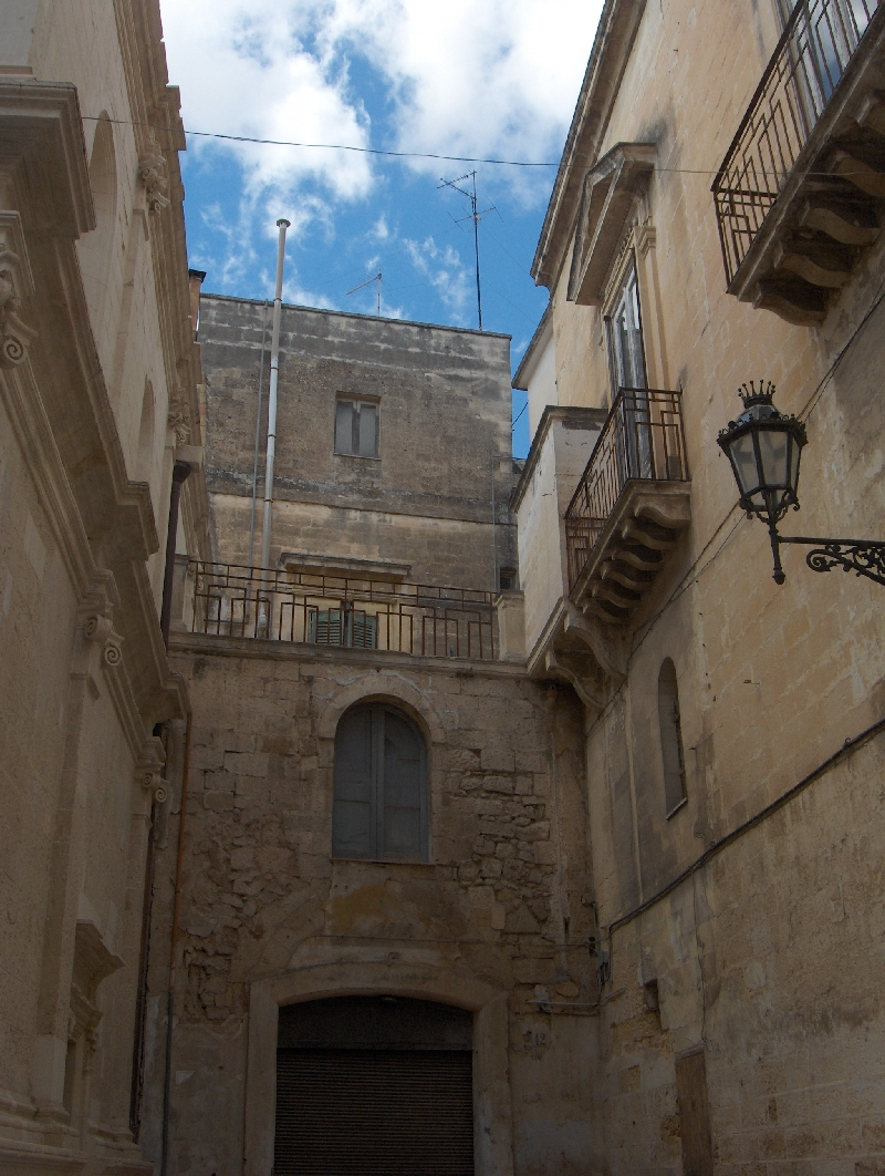 Pictures of the streets in Lecce, Italy