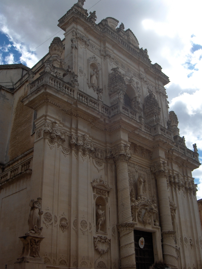 The San Giovanni Battista Church in Lecce, Italy