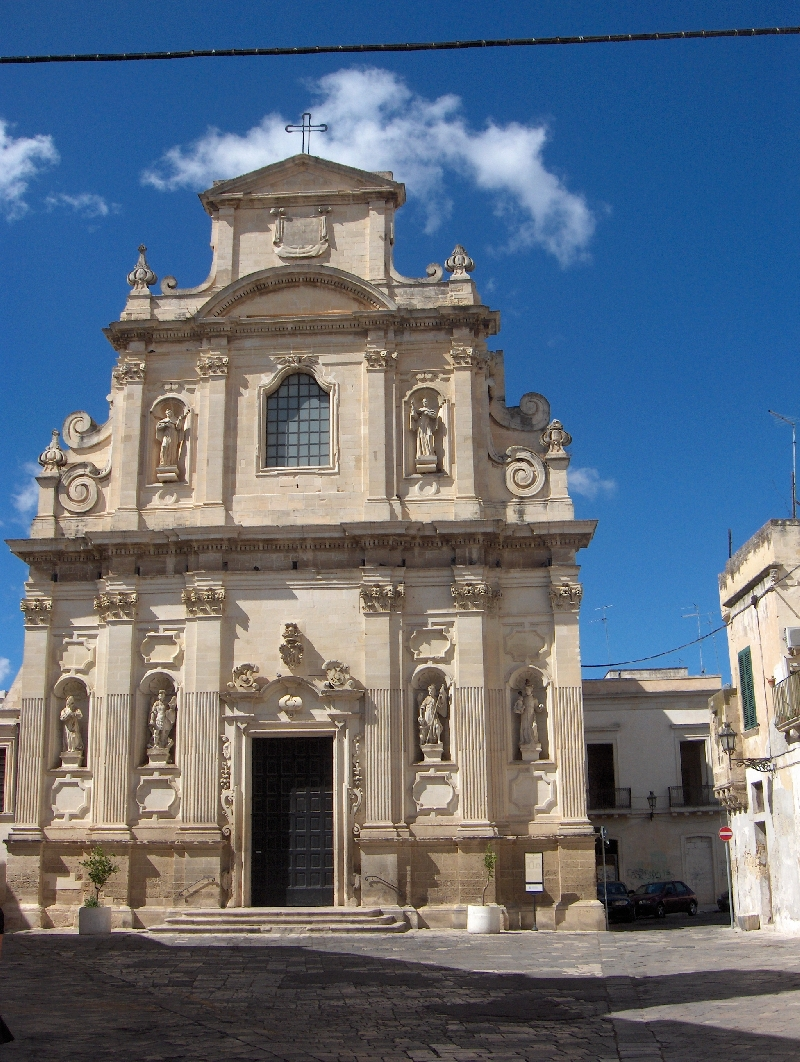 Church of Santa Chiara in Lecce, Italy