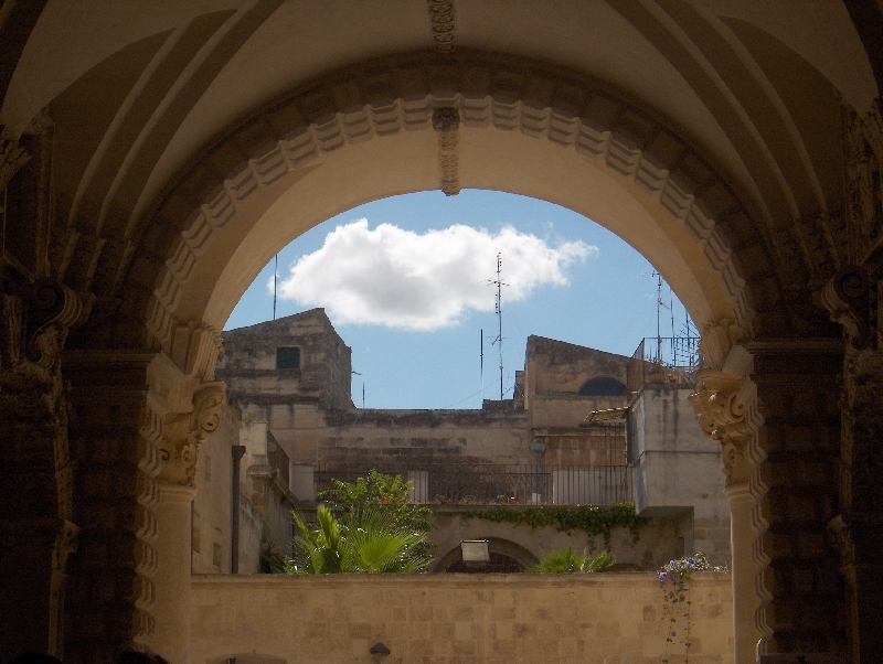 Panoramic pictures of Lecce, Italy, Italy