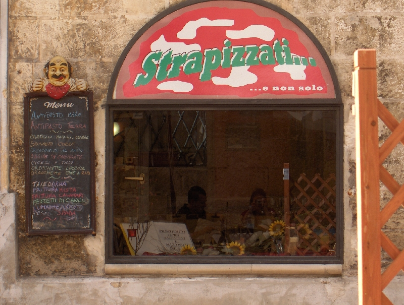 Great pizzeria in Lecce, Italy, Italy