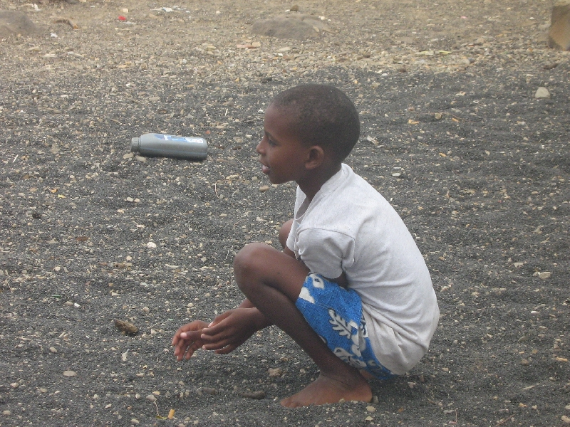Little boy in Espargos, Cape Verde, Cape Verde