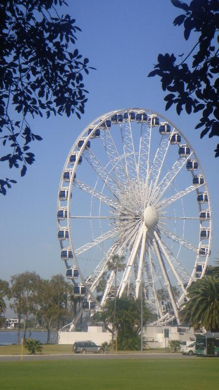 The Giant wheel of Perth, Australia