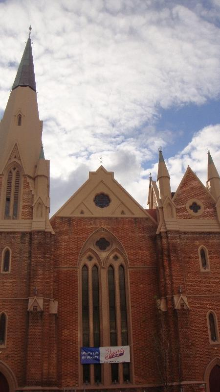 Wesley Church in Perth, Australia