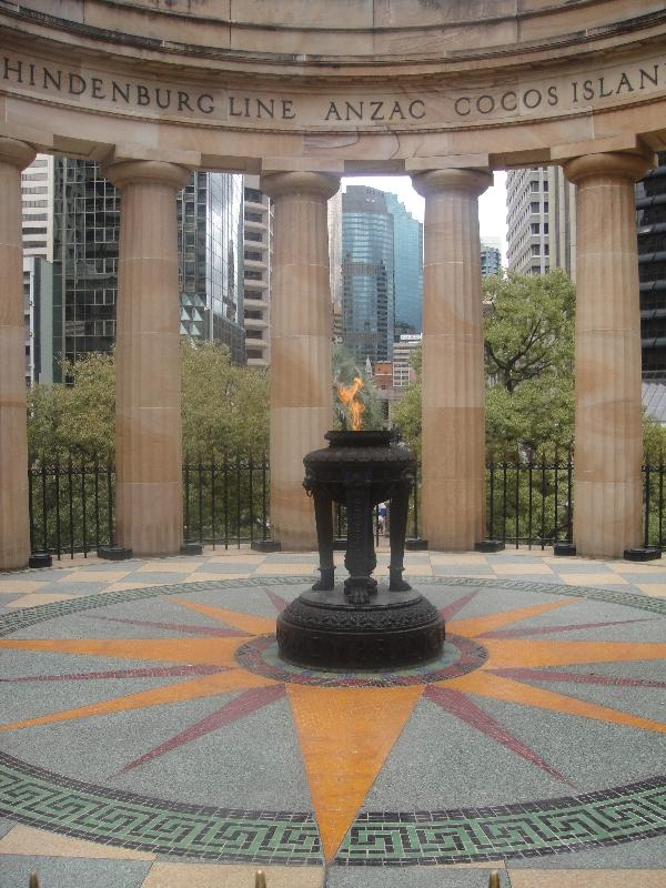 Anzac Memorial on Anzac Square, Brisbane Australia