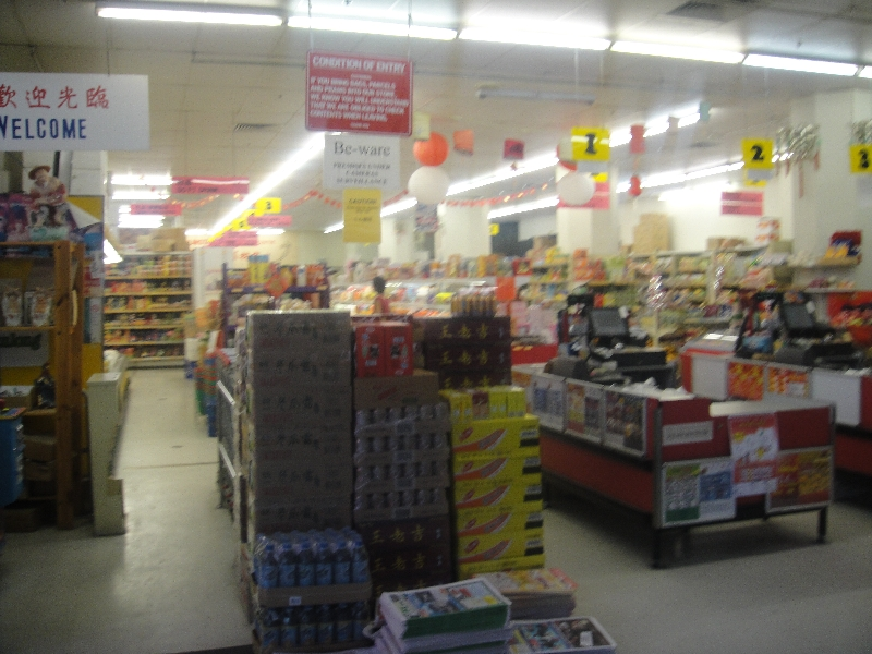 Chinese shops and deli´s, Australia