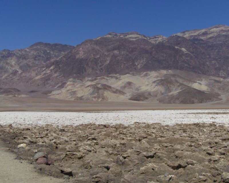 Salt lakes of Death Valley San Francisco United States North America