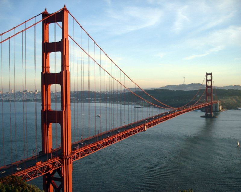 Golden Gate Bridge in San Francisco, United States