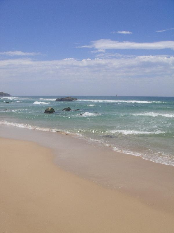 The Ocean at Lighthouse Beach, Port Macquarie Australia