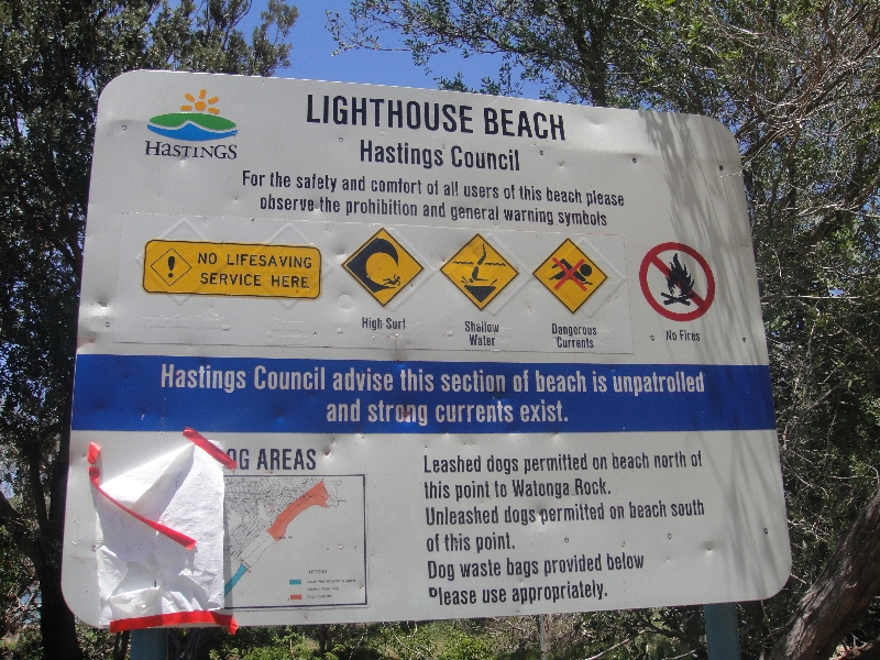 Lighthouse Beach in Port Macquarie, Australia