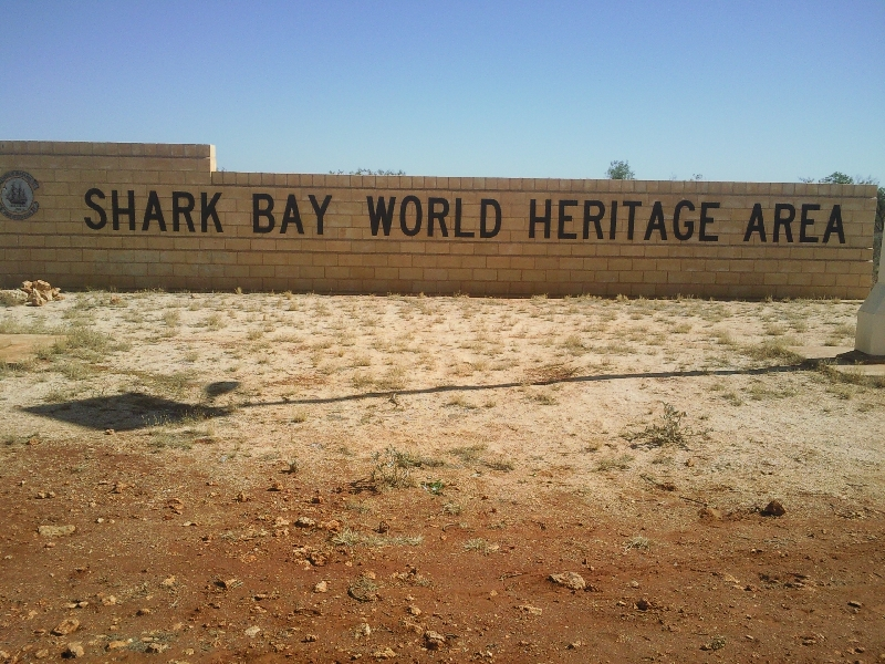 Shark Bay Heritage area, Australia