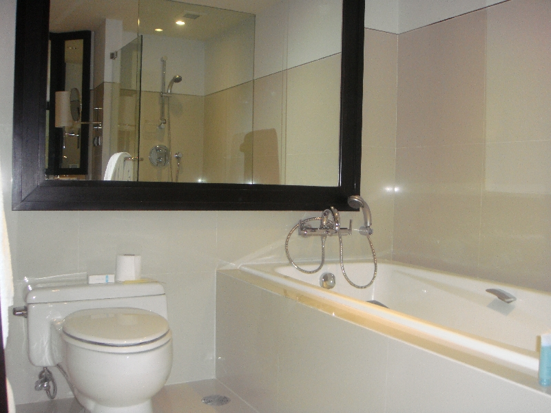 Hotels in Bangkok, the bathroom, Thailand