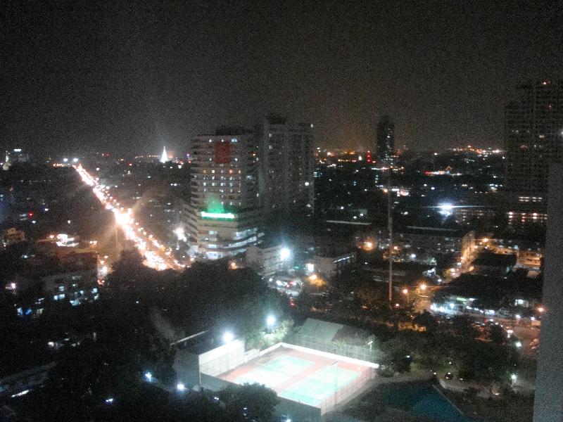 Hilton hotel Bangkok river view, Thailand