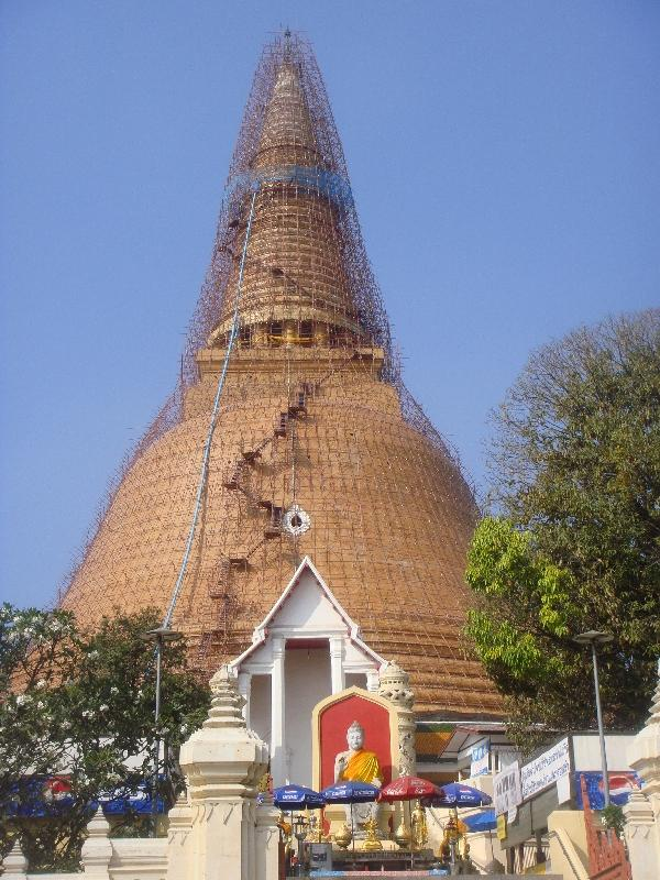 The Pathom Chedi in Nakhon Pathom, Thailand