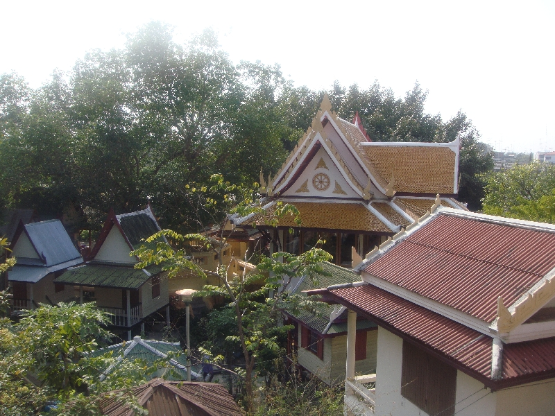 Looking out over Nakhon Pathom, Thailand
