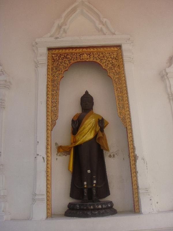 Buddha statue at Phra Pathom, Nakhon Pathom Thailand