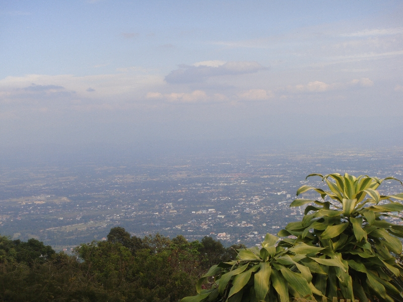 Panoramic view of Chiang Mai, Chiang Mai Thailand