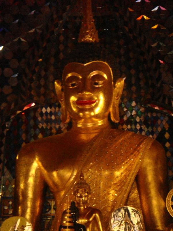 Buddha shrine at Doi Suthep, Chiang Mai Thailand