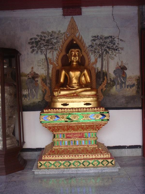 A golden Buddha, Thailand